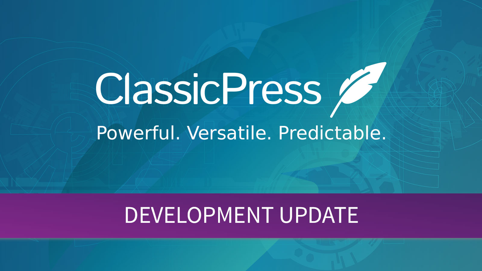 ClassicPress Development Update