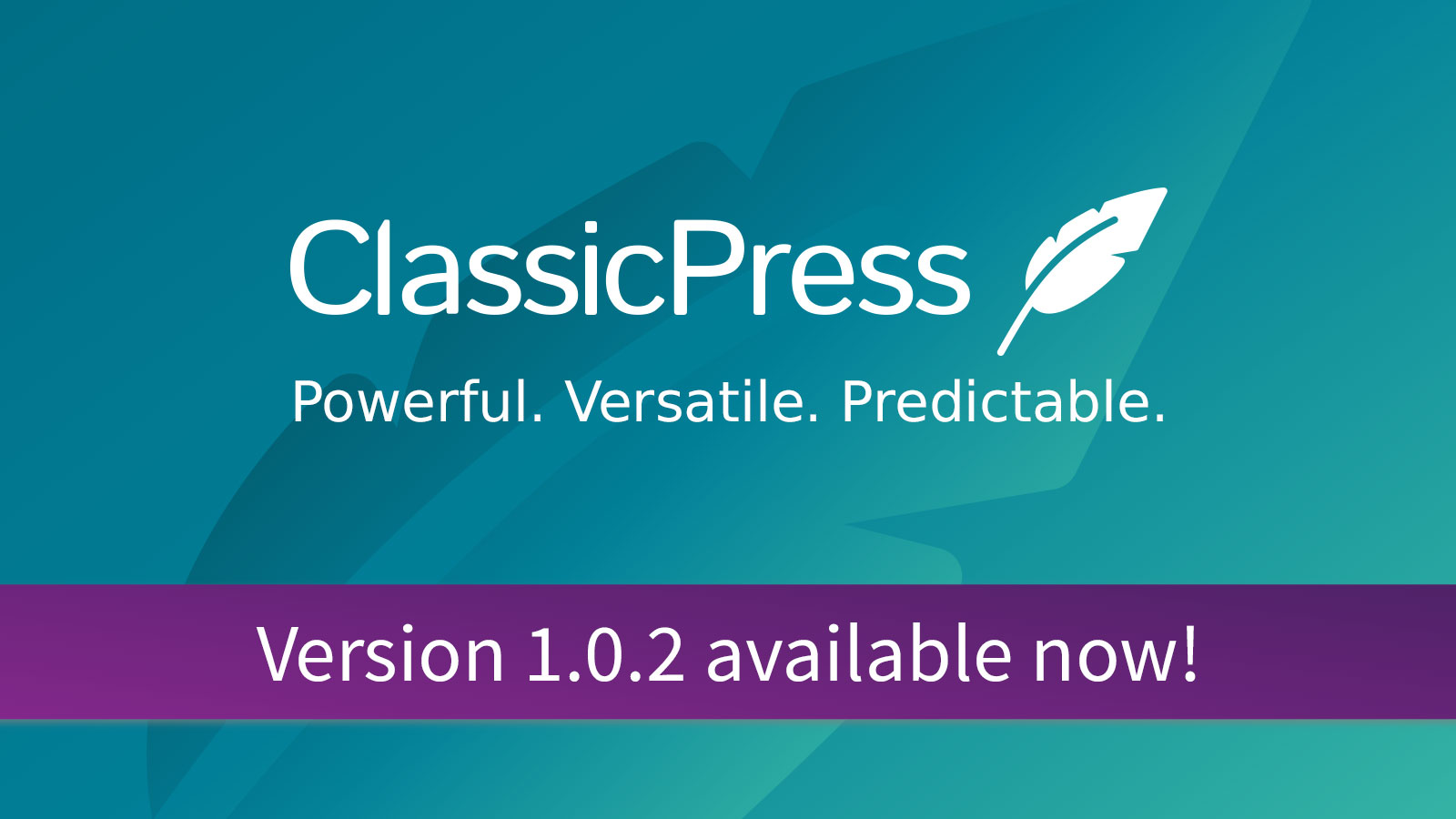 Update your site to ClassicPress 1.0.2 now!