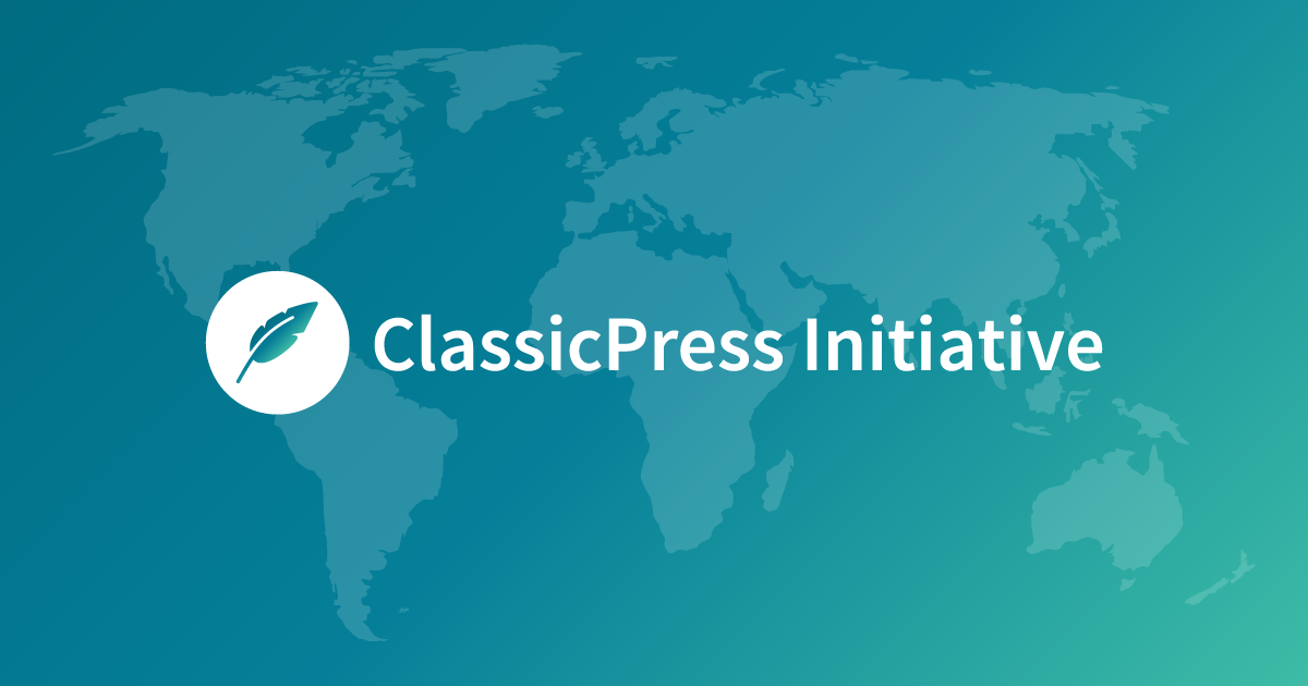 ClassicPress Initiative